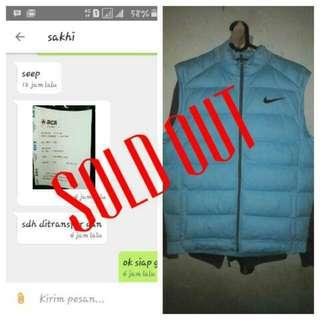 Alhamdullah.. Sold Out To Bandung