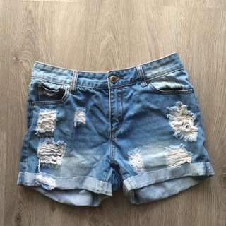 Size 10 High Waist Shorts
