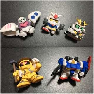 BB SD Gundam Gashapon