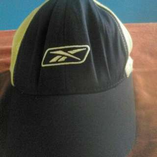 Rare Reebok Hat Limited Edition Andy Roddick Signature Mesh Cap Navy Blue White Tennis Authentic Trucker