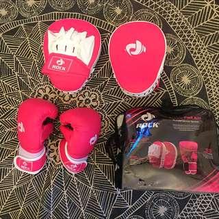 Pink Boxing Set
