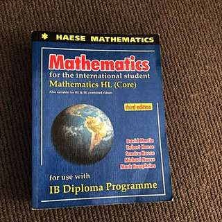 IB HL Mathematics Textbook