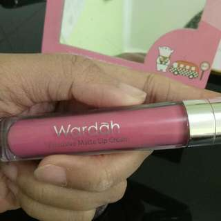 Lipstick Wardah Exclusive Matte Lipcream