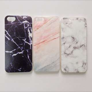 Marble Case for iPhone 5/5S/SE/6/6S/6S+/7/7+