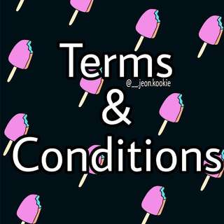 Terms & Conditions🐰
