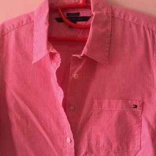 [TOMMY HILFIGER] Stripe Shirt