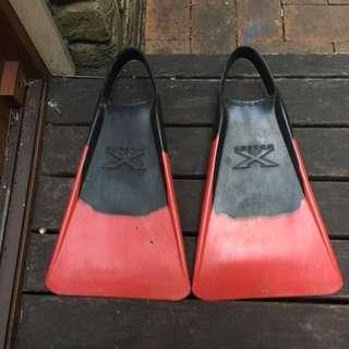 Custom X Bodyboard Fins