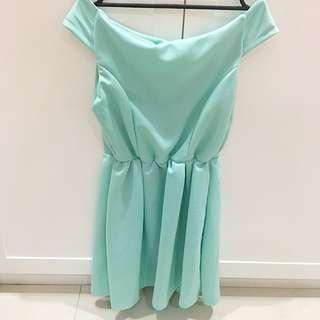 Mint Sabrina Dress