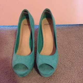Novo Mint Heels
