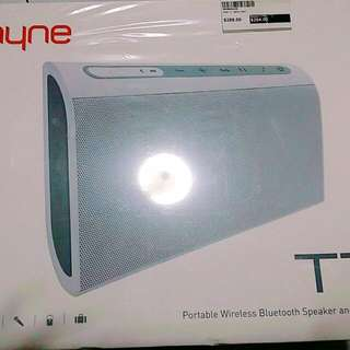 NYNE portable wireless bluetooth speaker & charger