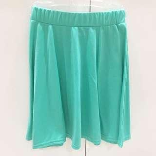 Mint Flare Skirt