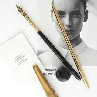 Ballpoint Pen In Gold Colour