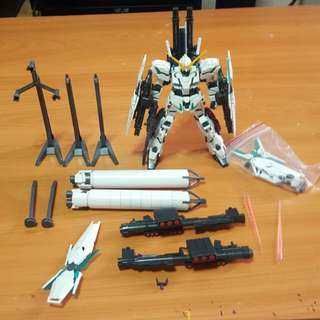 HGUC 1/144 Full Armor Unicorn Gundam Destroy Mode - Have broken Parts