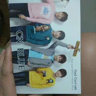 CN Blue Postcard Set