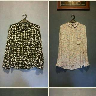 MARKS & SPENCER and GUESS Blouses