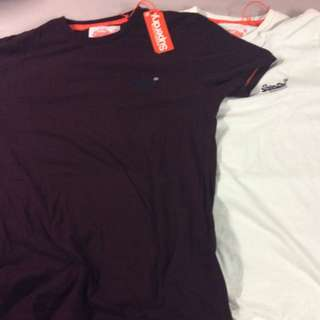 Superdry Tee's  Size M