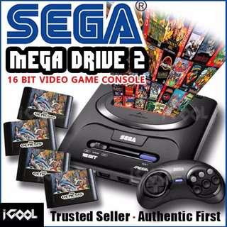 Sega Mega Drive 2 16 Bits Game Console (set A)/Full set $40