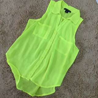 NEON YELLOW TOP(code: BB)