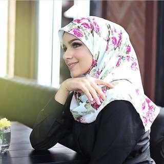 Florida Silk Scarf/Hijab Tosca