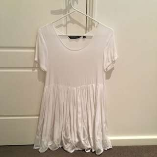 Glassons White Mini Dress