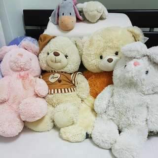 Large Big Plushie Soft Toy Teddy Bear Bunny Rabbit Gift.