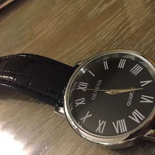 Black Watch With Black Dial