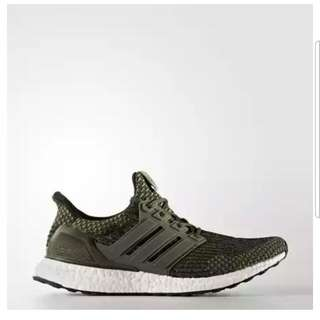UK 9!Adidas ultra Boost 3.0 Trace Cargo