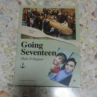 "(sold with love!♡) WTS SEVENTEEN GOING SEVENTEEN ""MAKE IT HAPPEN"" 💓💎"
