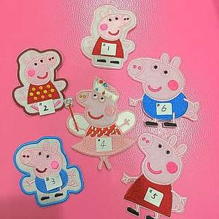 Brand New Cartoon Iron On Patch- Peppa Pig