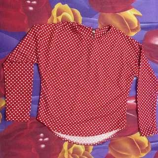 Polka Red