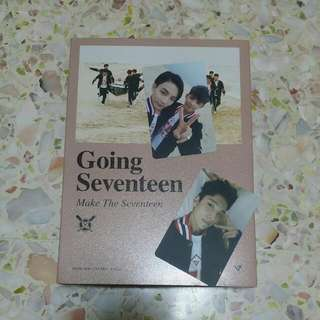(Sold with ♡!) WTS SEVENTEEN GOING SEVENTEEN 'MAKE THE SEVENTEEN' ALBUM 💎