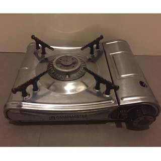 Campmaster Full Stainless Steel Portable Single Butane Gas Stove