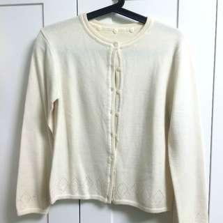 [降價] 米白針織衫
