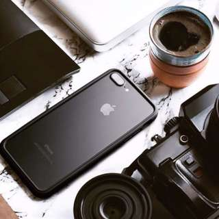 RHINOSHIELD CrashGuard 防摔邊框殼 公司貨 iPhone 7 4.7吋 黑色 2.0新版邊框高強度保護殼(送鋼化保護貼)