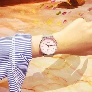 現貨+預購💕韓版簡約復古金屬手錶