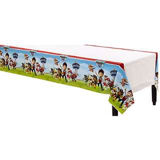 (In Stock)  Licensed PAW Patrol Birthday Party Table Cover