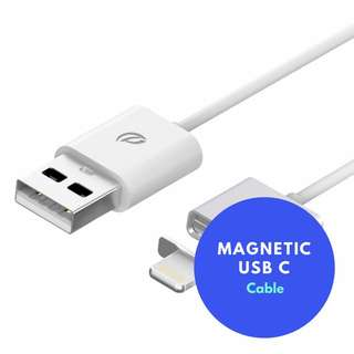 Magnetic USB C Charging Cable