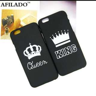 iPhone King Queen Case