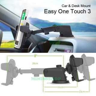 [BN] Car Mobile Phone Holder - Easy One Touch (CLEARANCE OFFERS)