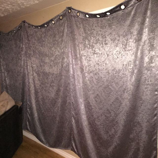3 X Black Out Curtains - Only 3 Months Old