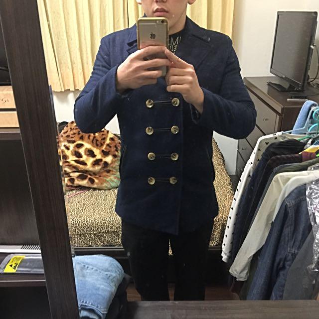 男士韓版大衣