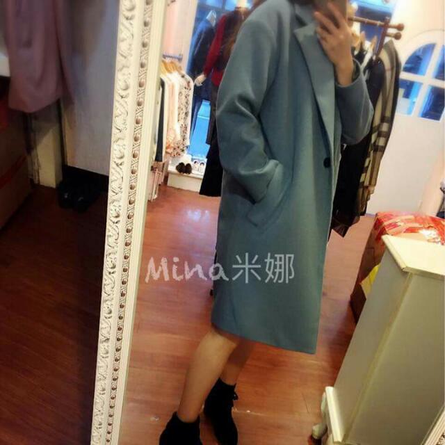 米娜正韓服飾轉賣大衣