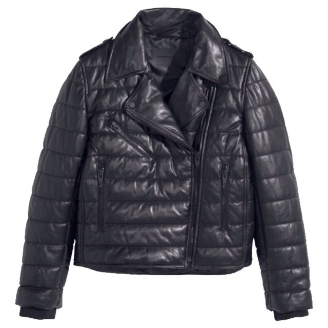 Alexander Wang x H&M Genuine Leather Puff Jacket