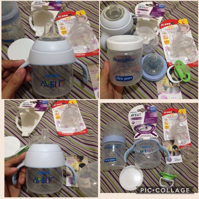 Avent The First Years Brand Dr Brown Sippy Cup Trainer Cup Soft Spout 5oz Feeding Bottle Pacifier Ai Non Nipple Teat Level 3 For Wide Neck Bottle