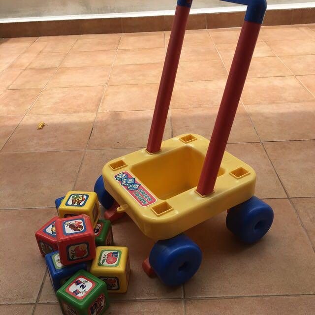 Baby Toy Walker With Storage