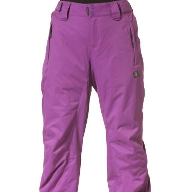 Bench Womens Snowpants Purple Small