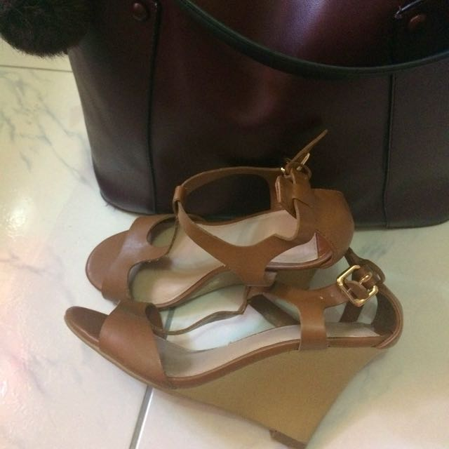 Bershka Leather Strappy sandals