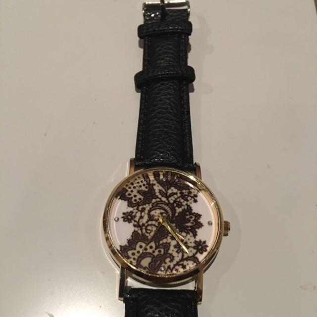 Black Mandela Watch