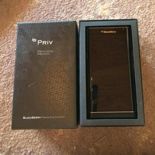 Blackberry Privilege Privacy