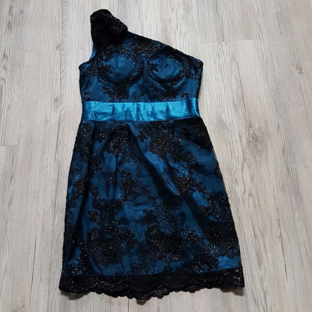 BLUE MINI DRESS (code: BB)